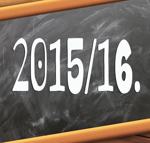 Преглед календара за школску 2015/2016. годину