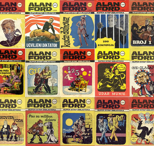 Најбољи цитати из стрипа Алан Форд
