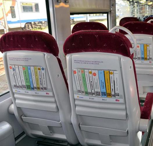 За оне који путују возом: 100.000 електронских књига