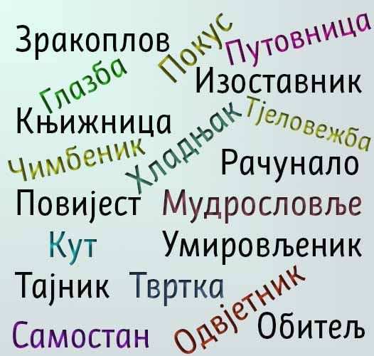 Ко је у праву: хрватске словенске речи или српске туђице?