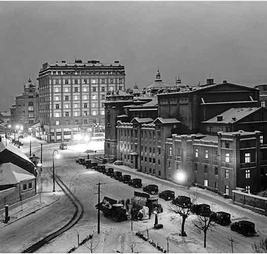 Милош Црњански: Београд у снегу