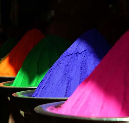 Боје, нијансе, комбинације боја…