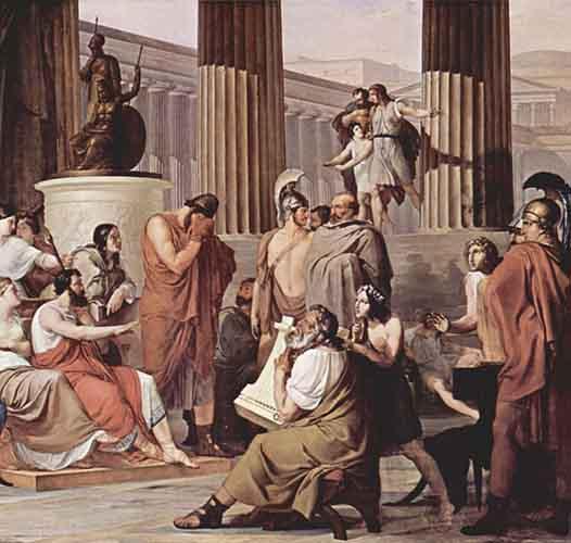 Лик Одисеја у Хомеровим еповима Илијада и Одисеја
