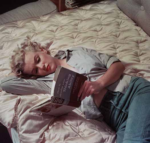 Мерилин Монро и књиге